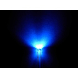 Led violette/UV grand angle 5000mcd