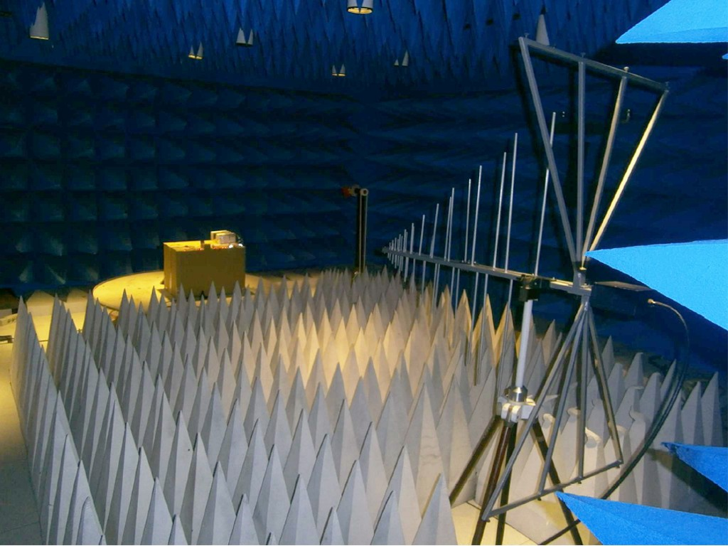 anechoic chamber for test