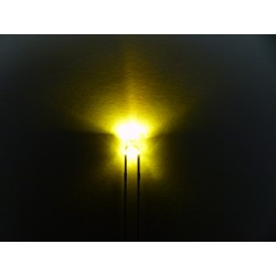 rectangular yellow LED